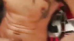 handsome horny sexy hung hunk masturbates