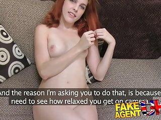 FakeAgentUK Petite Spanish pornstar gets huge facial