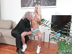 TeenMegaWorld - Old n Young - Old Dick Fucks Teen