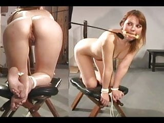 Spanked testicals - Anal punishment bound