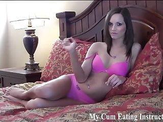 You are a cum addicted little slut CEI