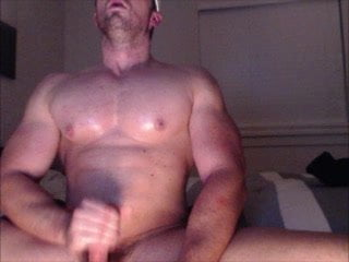 gay muscle porn clip: Str8 muscle men on cam, on hotmusclefucker.com