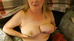 Exposed and Unaware Wife Cora Strips