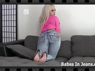 Is my round ass in tight jeans making you hard JOI
