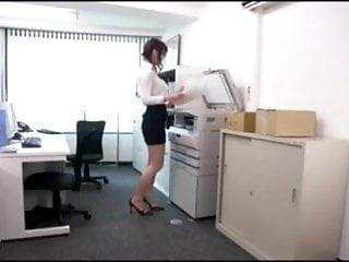 Censored Japanese Office Girl Surprised