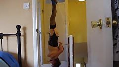 Slave Slut hunged upside down & used