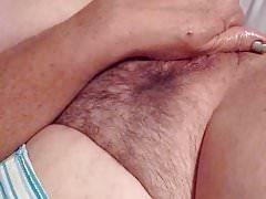 Amy, 55 fucks herself pt 3