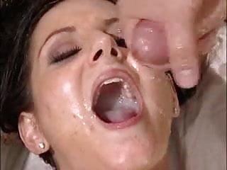 Bukkake Cum Slut Looks Like A Glaced Donut .F70