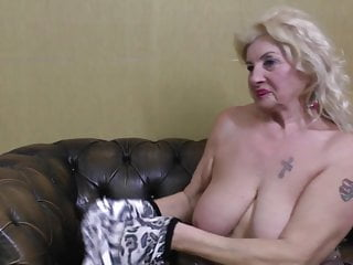 Oma granny tits very old