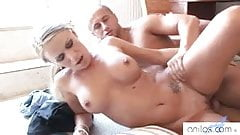 Hot milf loves anal creampies
