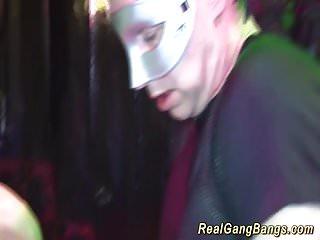 gangbang with skinny german Milf