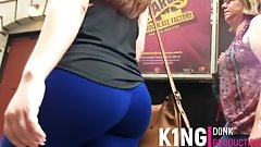 Pawg Teen Blue Spandex