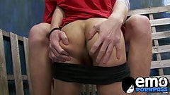 Young man fills his lovers mouth with cock and rims his ass