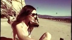 Victoria Justice on the beach