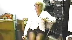 (Collect) Blonde milf fuck BBC boss to keep job