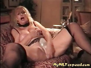 My MILF Exposed - mature granny hot wax tits play