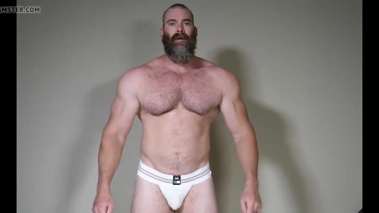Muscle Daddy Rick Flex Jerk Off  Cum, Free Gay Hd Porn Ac-6430