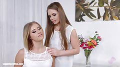 Aria Logan and sexy Alessandra Jane enjoying eachother on
