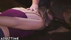 ADULT TIME Deliquent Step-Sisters Fuck Cops & Lick Cum