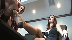 Office Foot Slut