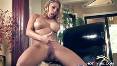 Ass Play with Big Tits Blondie