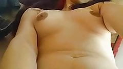 My GF Masturbating and Cumming