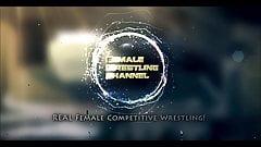 Kage vs Monroe and Callisto - Mixed Wrestling - (REAL)