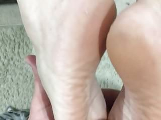 Soles were made for cumming on