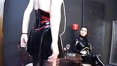 Dominatrix, sissy training