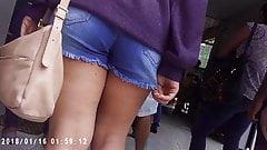 Nice girl booty