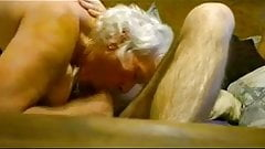 Perfect big ass amateur granny bj cum mouth