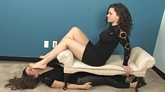 Sexy Emily - Lesbian Foot Fetish