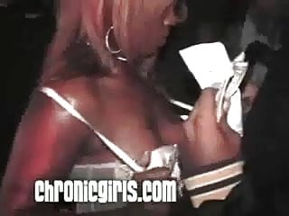 Black female strip clubs in houston - She rips mans pants to get dick at underground strip club