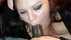BBW Wife Blowjob