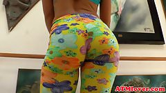 Glamcore gaping milf plays with kinky toys