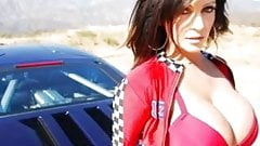 Denise Milani only Photos and Car - non nude