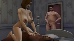 First time cuckold - narrated by The Sims