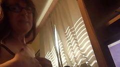 Webcam Cum on My Tits
