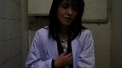 Yuko Tachibana uses vibrator o