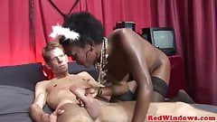 Ebony redlight hooker loves a big dick's Thumb