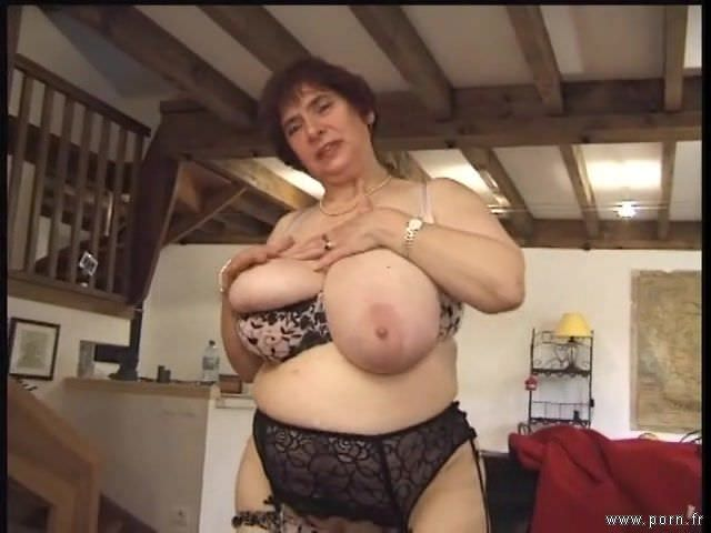 What words..., Porn Huge titted french granny ginette good when
