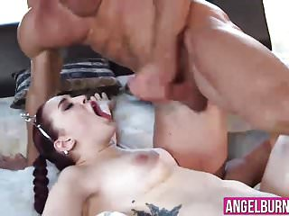 Amber Ivy getting her dripping wet pussy fucked hardcore