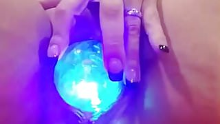 Magic balls are fun and naughty
