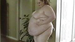 SSBBW Huge Fat Belly Play