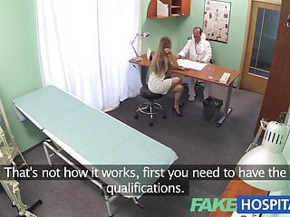 FakeHospital Nurse with a great arse sucks and fucks doctor