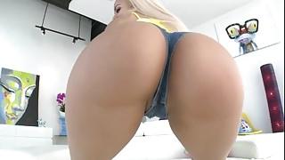 PAWG Blonde Latina Ass Fucked