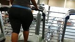 Humongous treadmill booty