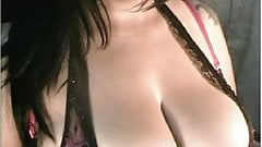 Curvy Latina Cleavage tease