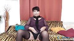 EuropeMaturE Solo Lady Self Stimulation Footage