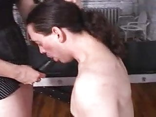 Black strapon fucking - Mistress with black strapon
